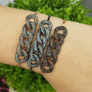 KB33094S5 BROWN-BRACELET MIN.$100 -20% 6PCS-30% 12PCS-40%