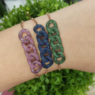 KB33094S5 RED-BRACELET MIN.$100 -20% 6PCS-30% 12PCS-40%